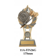 Darts Trophies 11A-FIN26G - 175mm Also 200mm & 230mm