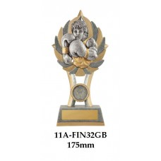 Boxing Trophies 11A-FIN32GB - 175mm Also 200mm & 230mm