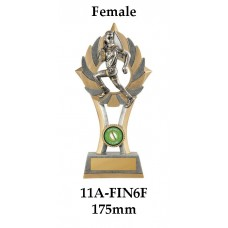 Rugby Trophies 11A-FIN6F - 175mm Also 200mm & 230mm