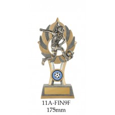 Soccer Trophies  Female 11A-FIN9F - 175mm Also 200mm & 230mm