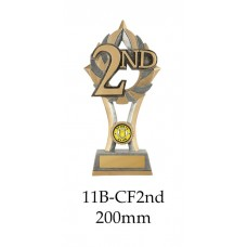 Motorsport Trophies 11B-CF2nd - 200mm