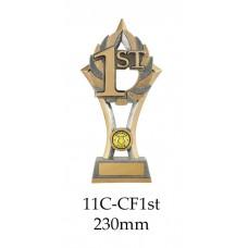 Motorsport Trophies 11A-CF1stMotorsportEva - 230mm Also 200mm & 175mm