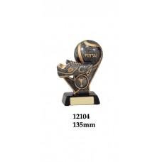 Soccer Futsal Trophies 12104 - 135mm & 165mm