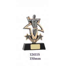 Cricket Trophies 12411S - 150mm Also 190mm & 225mm