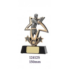 Cricket Trophies 12412S - 150mm