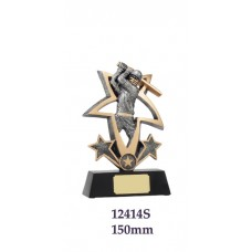 Cricket Trophies 12414S - 150mm Also 190mm & 225mm