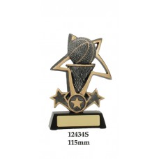 Basketball Trophies 12434S - 115mm