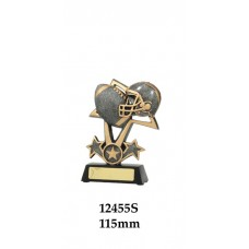 Grid Iron Trophies  12455S - 115mm