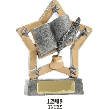 Knowledge Trophies 12905 - 130mm