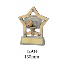 Basketball Trophies 12934 - 130mm