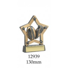 Rugby Trophies 12939 - 140mm