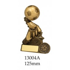 Soccer Trophies 13004A - 125mm Also 140mm & 155mm