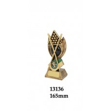 Billiards Trophies 13136 - 165mm Also190mm & 210mm