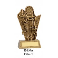 Cricket Trophies 13440A - 150mm Also 175mm