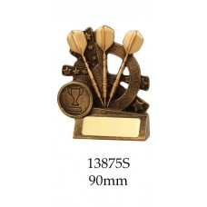 Darts Trophies 13875S - 90mm Also 110mm