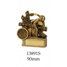 Netball Trophies 13891S - 90mm Also 110mm