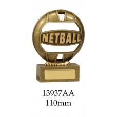 Netball Trophies 13937AA - 110mm