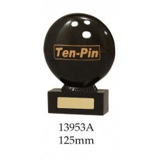 Ten Pin Bowling Trophies 13953A - 125mm Also 155mm