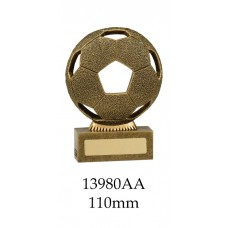 Soccer Trophies 13980AA - 110mm Also 125mm & 155mm
