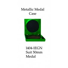 Medals Case Metallic Green - 1404/1EGN - 92mm x 92mm suit 50mm Medal