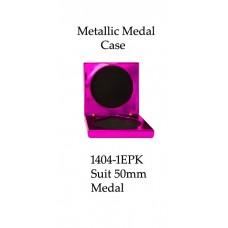 Medals Case Metallic Pink - 1404/1EPK - 92mm x 92mm suit 50mm Medal