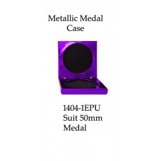 Medals Case Metallic Purple - 1404/1EPU - 92mm x 92mm suit 50mm Medal