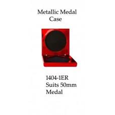Medals Case Metallic Red - 1404/1ER - 92mm x 92mm suit 50mm Medal