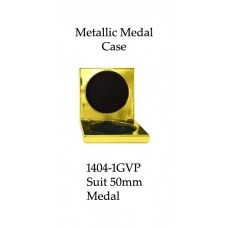 Medals Case Metallic Yellow - 1404/1GVP - 92mm x 92mm suit 50mm Medal