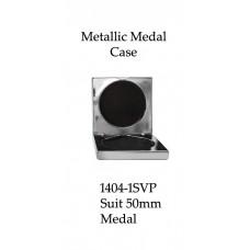 Medals Case Metallic Silver - 1404/1SVP - 92mm x 92mm suit 50mm Medal