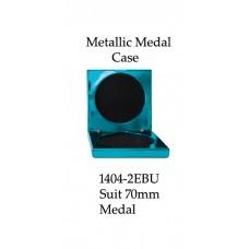 Medals Case Metallic Blue - 1404/2EBU - 92mm x 92mm suit 70mm Medal