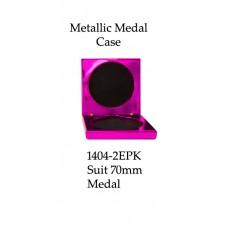 Medals Case Metallic Pink - 1404/2EPK - 92mm x 92mm suit 70mm Medal