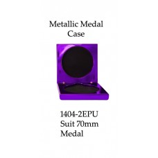 Medals Case Metallic Purple - 1404/2EPU - 92mm x 92mm suit 70mm Medal