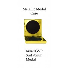 Medals Case Metallic Yellow - 1404/2GVP - 92mm x 92mm suit 70mm Medal