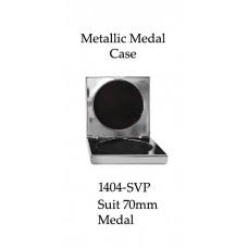 Medals Case Metallic Silver - 1404/2SVP - 92mm x 92mm suit 70mm Medal