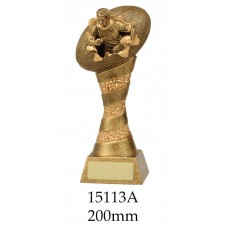 Rugby Trophies 15113A - 200mm Also 250mm