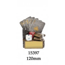 Playing Cards Trophies 15397 - 120mm