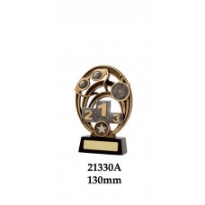 Swimming Trophies 21330A - 130mm Also 155mm & 180mm