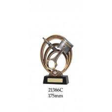 Motorsport Trophies 21386C - 175mm Also 200m & 225mm