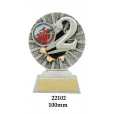 Swimming Trophies 22102 - 100mm