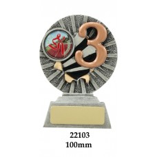 Swimming Trophies 22103 - 100mm