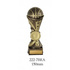 Basketball Trophies 222-7BRA - 150mm,180mm, 200mm, 220mm & 250mm