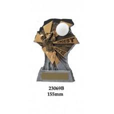 Golf Trophies Longest Drive 23069B - 155mm
