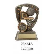 Basketball Trophies 23543A - 120mm  Also 140mm & 160mm