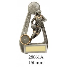 Basketball Trophies Female 28061A - 150mm Also 175mm