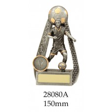 Soccer Trophies Male 28080A - 150mm Also 175mm 200mm & 230mm