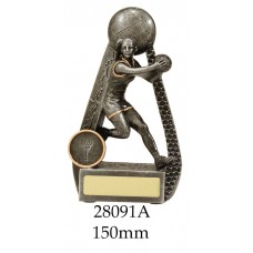 Netball Trophies 28091A - 150mm Also 175mm & 200mm