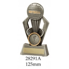 Netball Trophies 28291A - 125mm Also 150mm & 180mm