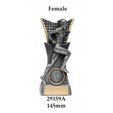 Athletics Trophies 29159A - 145mm Also 165mm & 185mm