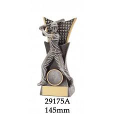 Baseball Softball Female Trophies 29175A  - 145mm & 185mmmm