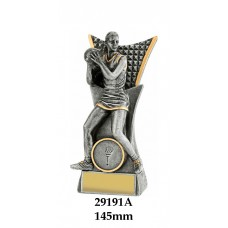 Netball Trophies 29191A - 145mm Also 165mm 185mm 240mm 290mm & 375mm